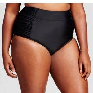 Women's Plus Size High Waist Swim Bottom - 14W